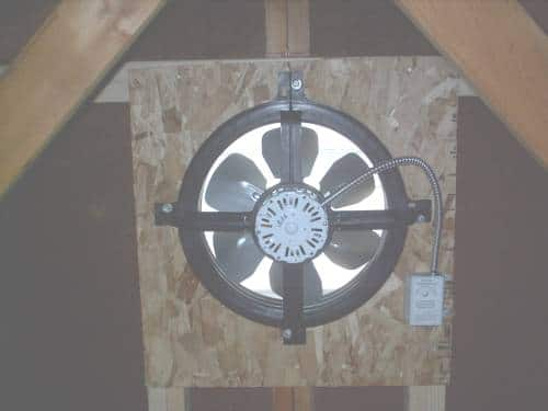 gable end fan