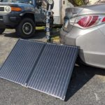 solar panels for solar charged car