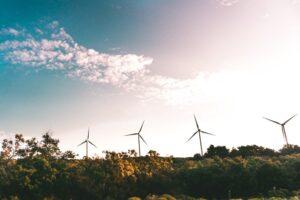 four energy windmills